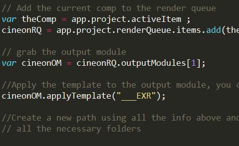 After effects – Java script for folder creation – Vivek Reddy